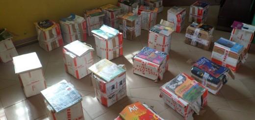 DON de livres à la Mairie de Douala 3ème par la grande famille KORI BILON !